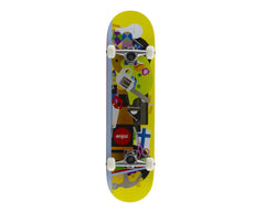 Enjoi Bless This Mess R7 Louie Barletta - Yellow - 7.75 - Complete Skateboard