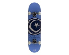Foundation Dan Murphy Star & Moon Signature - Blue - 7.75in x 32in - Complete Skateboard