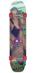 Rayne Slide Series Homewrecker - Multi - 9.375in x 40in - Complete Skateboard