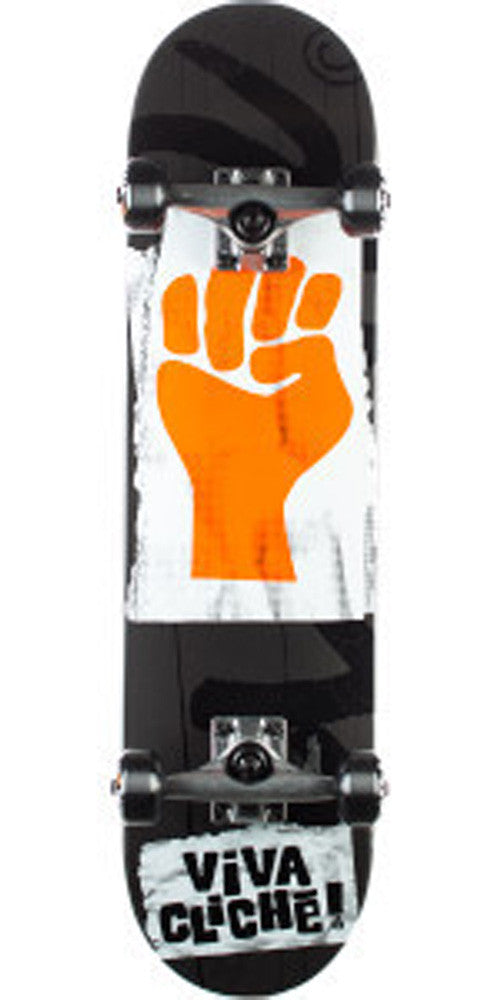 Cliche Viva Cliche - Black/Orange - 8.0 - Complete Skateboard