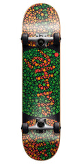 Cliche Colorblind - Green/Red - 7.7 - Complete Skateboard