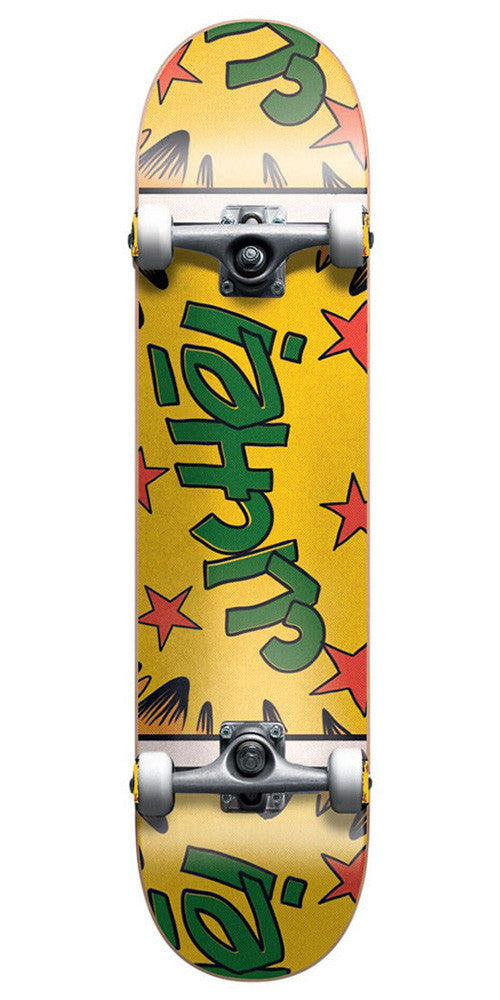 Cliche Comics - Yellow/Green - 7.6 - Complete Skateboard