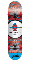 Cliche Mr. Men Mr. Small - Multi - 7.5in - Complete Skateboard