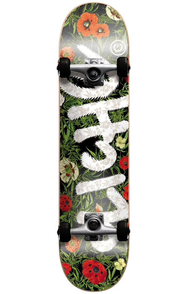 Cliche Handwritten Botanical - Multi - 8.0in - Complete Skateboard