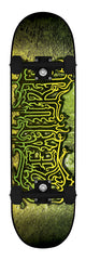 Creature Frozen Beasts Powerply Large - Black/Green/Yellow - 8.26in x 31.7in - Complete Skateboard