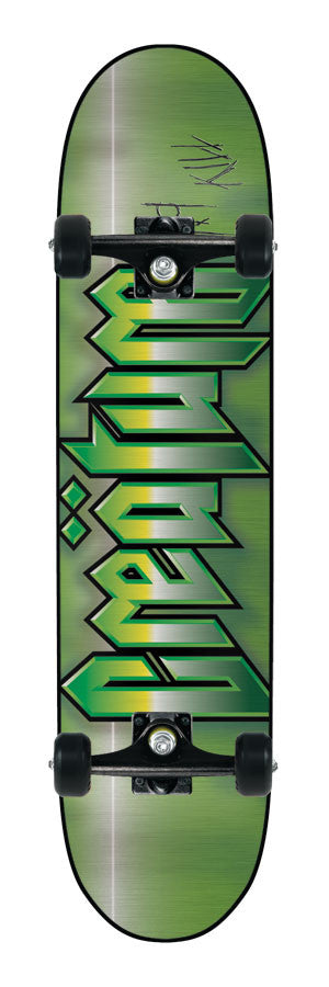 Creature Cold Steel Powerply Medium - Green/Black - 7.9in x 31.7in - Complete Skateboard