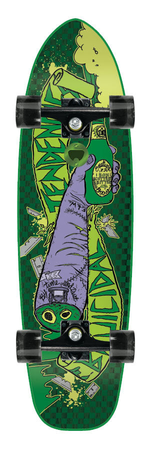 Creature Bruicidal Tendencies Cruzer - Green - 7.9in x 31.1in - Complete Skateboard