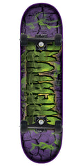 Creature Team Inferno Mini Sk8 - Purple/Green - 7.0in x 29.2in - Complete Skateboard