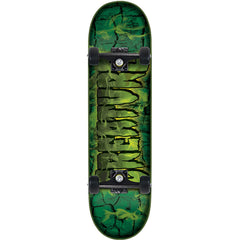 Creature Team Inferno Regular Sk8 - Green - 7.5in x 30.6in - Complete Skateboard