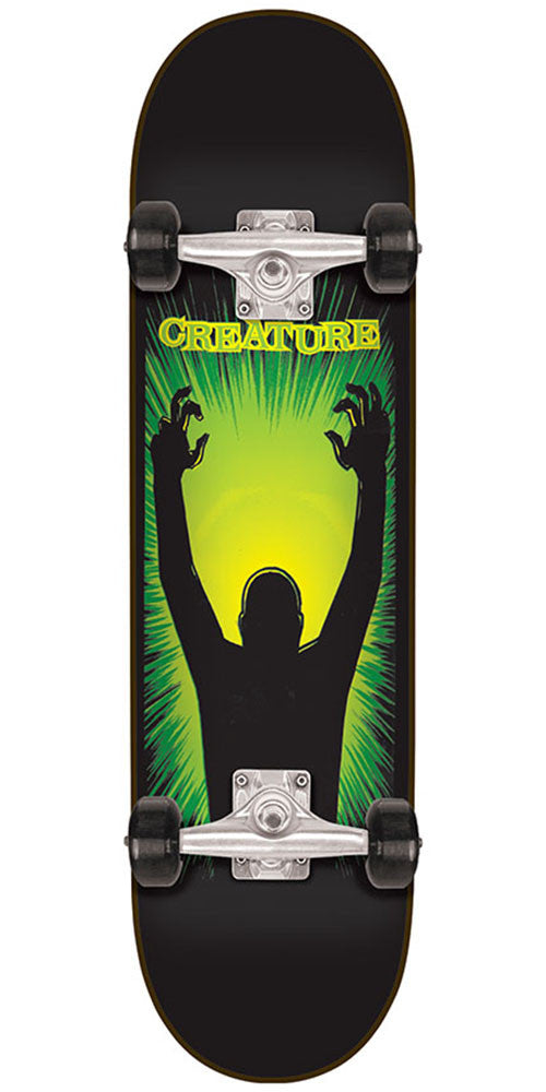 Creature The Thing - Black - 7.8in x 31.7in - Complete Skateboard