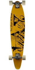 LAX San Diego - Gold - 8.75in x 39.0in - Complete Skateboard