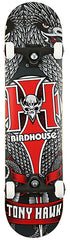 Birdhouse Hawk Emblem - Black/Red/White - 7.5 - Complete Skateboard