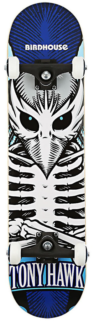 Birdhouse Hawk Icon - Navy/White/Black - 7.5 - Complete Skateboard