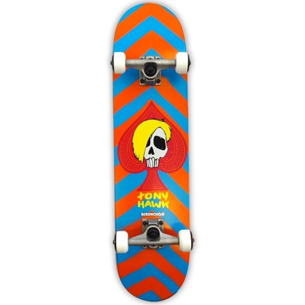 Birdhouse Hawk McSqueeb - Red - 8.125 - Complete Skateboard