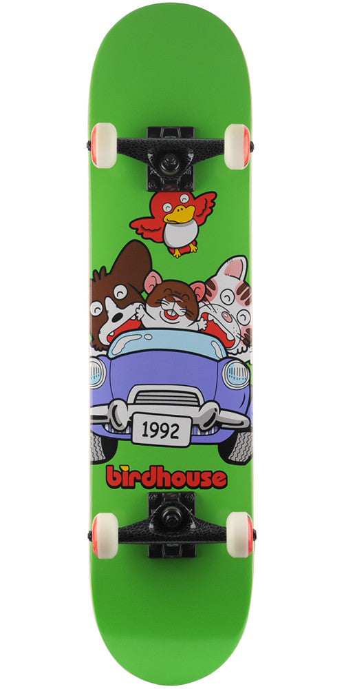 Birdhouse Team Bunch - Green - 7.5in - Complete Skateboard