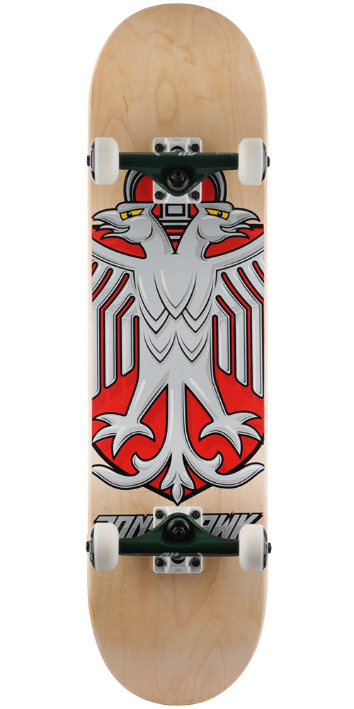 Birdhouse Tony Hawk Eagle Shield - Natural - 8.0in - Complete Skateboard