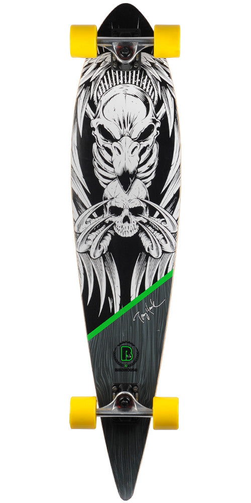 Birdhouse Tony Hawk Skull - Black - 40.0in - Complete Skateboard