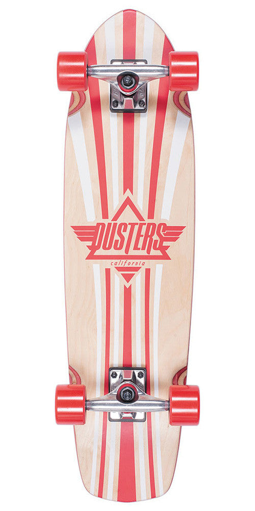 Dusters Keen - Kryptonic Red - 31 - Complete Skateboard