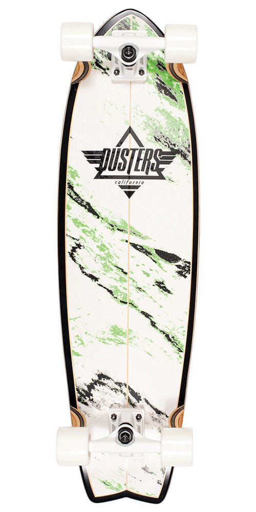 Dusters Kosher Cruiser - Glow In The Dark  - 9.5n x 33in - Complete Skateboard
