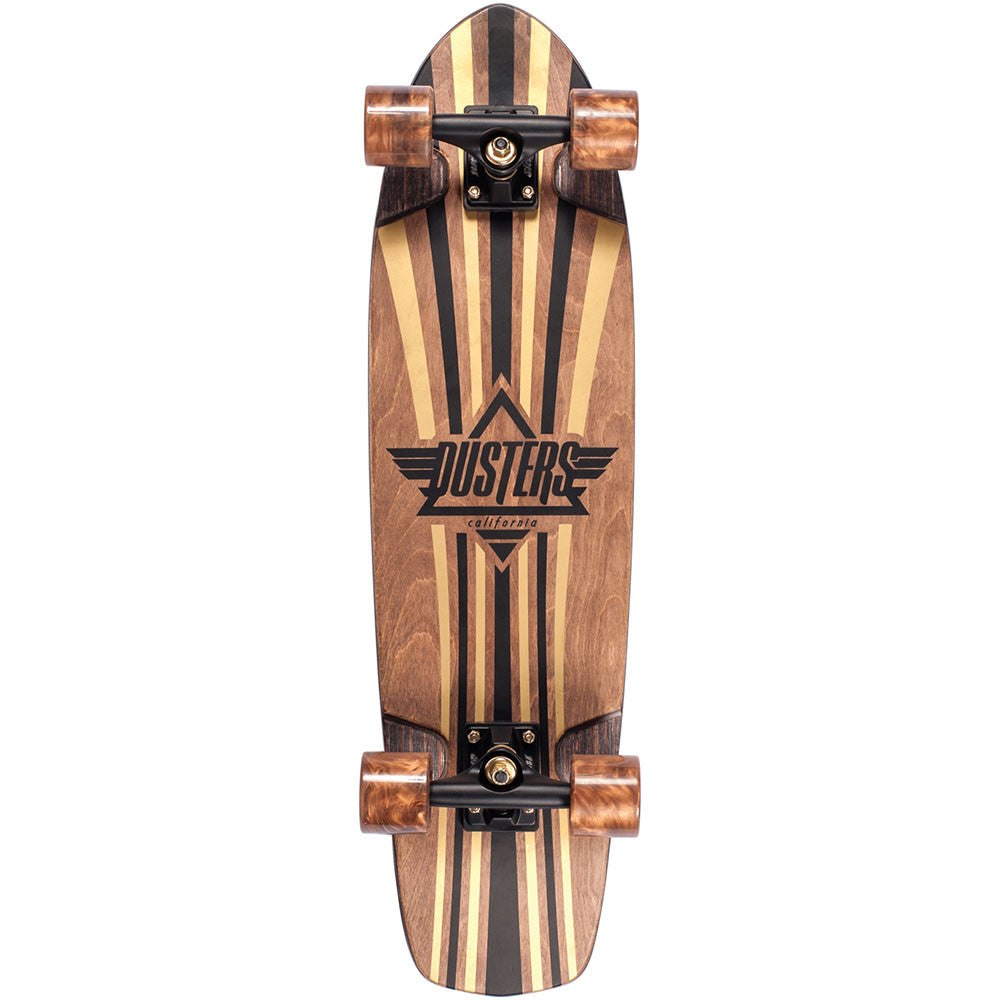 Dusters Keen V-Ply Cruiser - Gold - 31in - Complete Skateboard