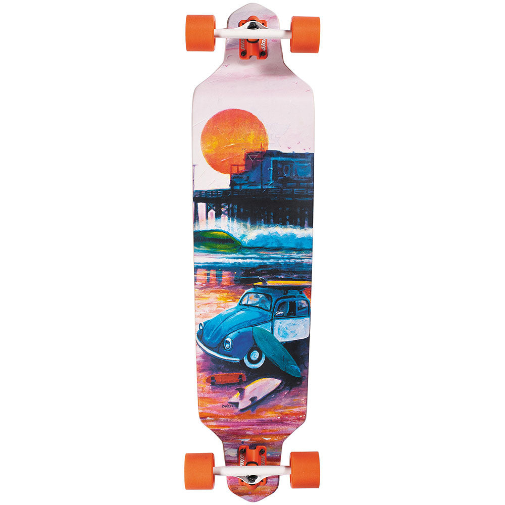 Dusters Shorebreak Longboard - Multi - 41.0in - Complete Skateboard