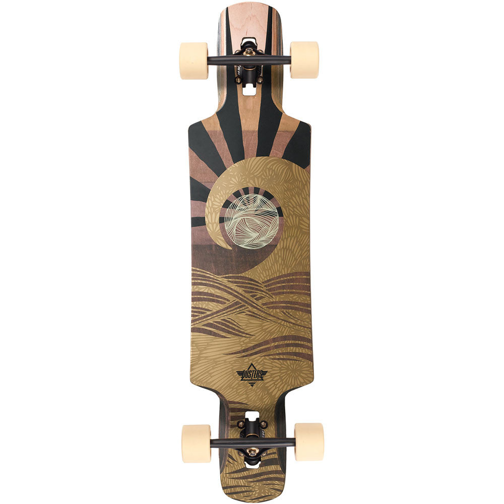 Dusters Terra Longboard - Brown - 38.5in - Complete Skateboard