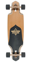 Dusters Channel Longboard - Gold - 34.0in - Complete Skateboard