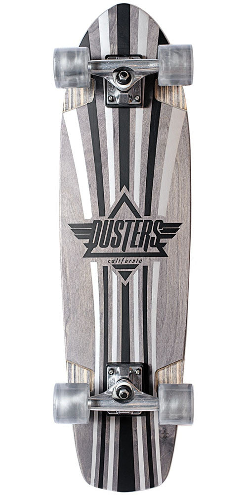 Dusters Keen V-Ply Cruiser - Silver - 31.0in - Complete Skateboard