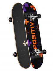 Positiv Rodney Jones Digital Series - Black/Orange - 7.75 - Complete Skateboard