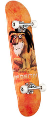 Positiv Santos Lion - Orange - 8.0 - Complete Skateboard