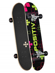 Positiv Team Digital Series - Black - 7.5 - Complete Skateboard