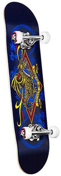 Powell Diamond Dragon - Black/Blue - 7.5 - Complete Skateboard