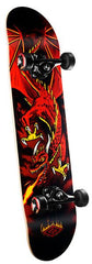 Powell Golden Dragon - Flying  Dragon Red - 7.625in x 31.625in - Complete Skateboard