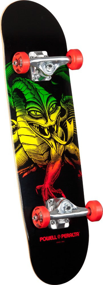 Powell-Peralta Cab Dragon - Red - 7.5in x 28.65in - Complete Skateboard