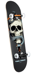 Powell Peralta Skull and Snake - Grey - 7.625in x 31.625in - Complete Skateboard