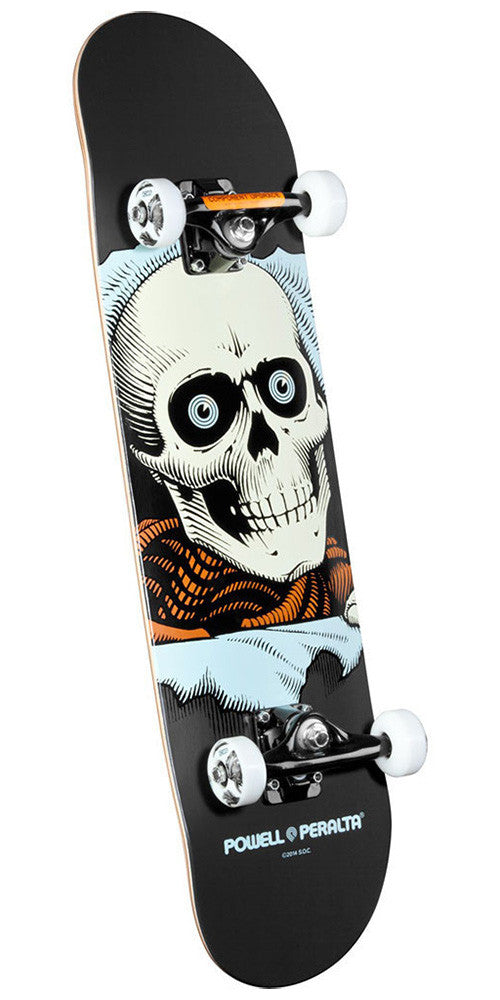 Powell Peralta Ripper - Grey - 8.0in x 32.125in - Complete Skateboard