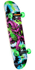 Powell Peralta Cab Dragon - Tie Dye - 7.5in x 28.65in - Complete Skateboard