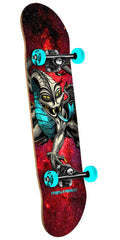 Powell Peralta Cab Dragon - Cosmic Red - 7.75in x 31.75in - Complete Skateboard