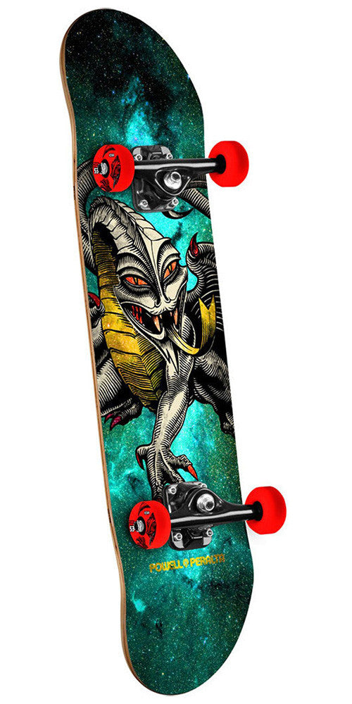Powell Peralta Cab Dragon - Cosmic Green - 7.5in x 28.65in - Complete Skateboard