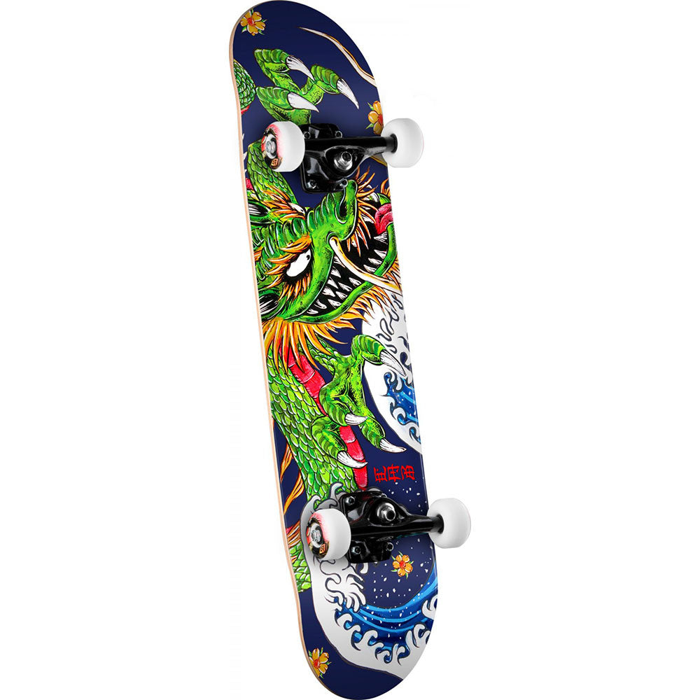 Powell Peralta Cab Ink Dragon 2 - Multi - 7.625in x 31.625in - Complete Skateboard