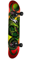 Powell Peralta Golden Dragon Knight Dragon II - Multi - 7.0in x 28.0in - Complete Skateboard