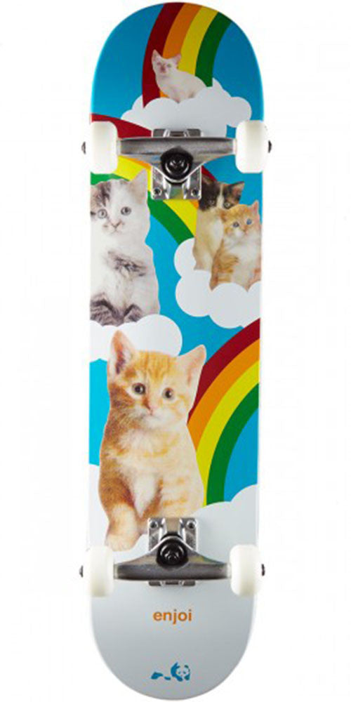 Enjoi Kitten Dreams - Multi - 7.625in - Complete Skateboard