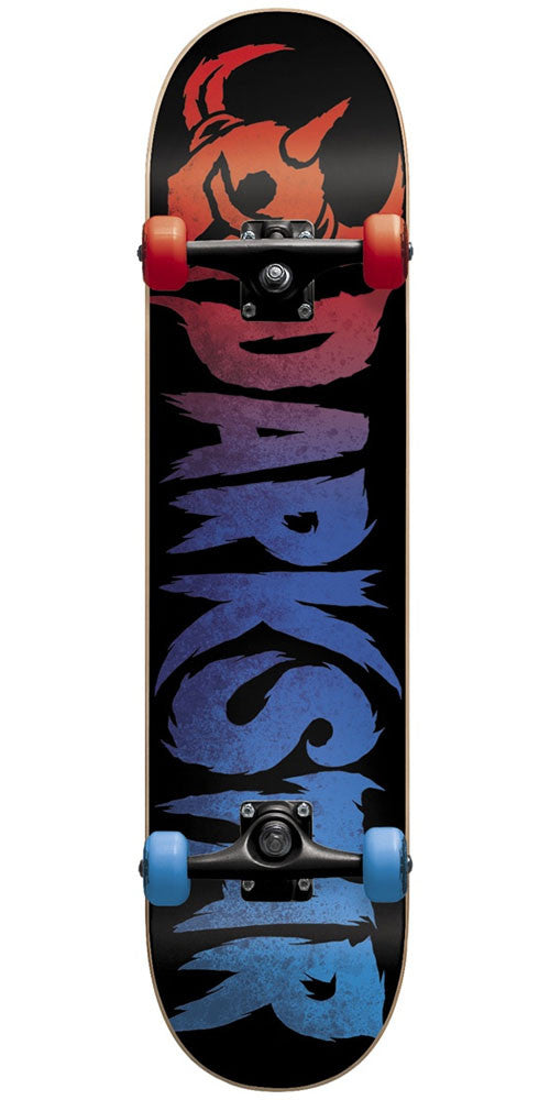 DarkStar Ultimate Youth FP - Red/Blue - 7.0in - Complete Skateboard