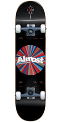 Almost Noble Color Wheel - Black - 7.875in - Complete Skateboard