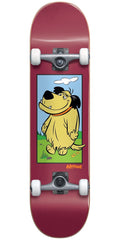 Almost Muttley Youth - Burgundy - 7.0in - Complete Skateboard
