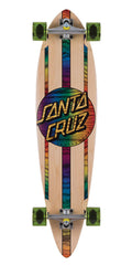 Santa Cruz Mahaka Rainbow Pintail - Natural - 9.58in x 39.0in - Complete Skateboard