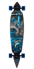 Santa Cruz Shipwreck Pintail - Multi - 9.35in x 43.59in - Complete Skateboard