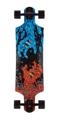 Santa Cruz Fire and Ice Micro Drop Down - Multi - 9.34in x 36.52in - Complete Skateboard