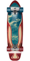Dusters Dye Marble Cruiser - Red/Blue - 29.0in - Complete Skateboard