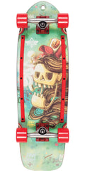 Dusters Rebel Cruiser - Kryptonic Red - 29.0in - Complete Skateboard